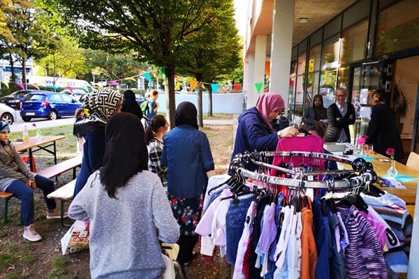 Nachbarschaftstreff Langbürgener Straße – Kinderkleidertauschbörse