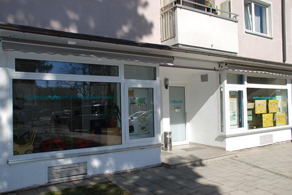 Nachbarschaftstreff Untermenzinger Straße: Außenansicht