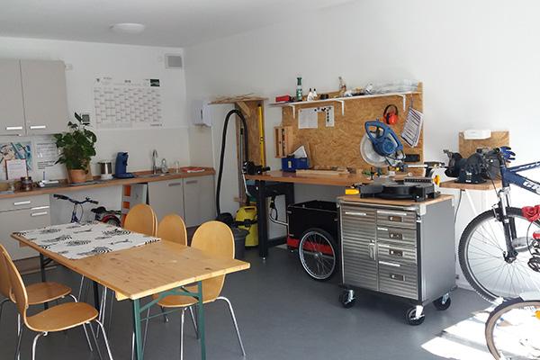 Nachbarschaftstreff Schwabing: Parkstädter Werkstatt