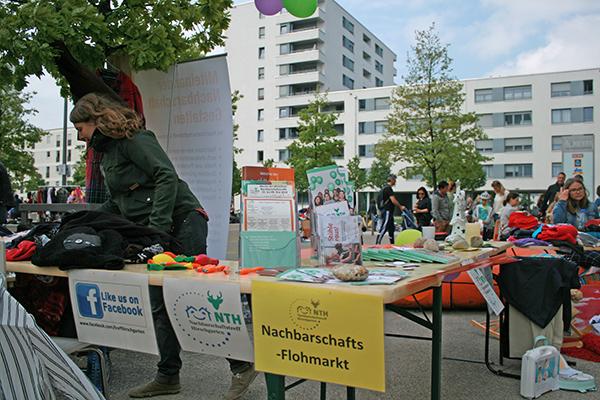 Nachbarschaftstreff Hirschgarten: Flohmarkt