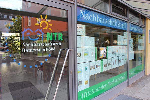 Außenansicht des Nachbarschaftstreff Ramersdorf-Süd