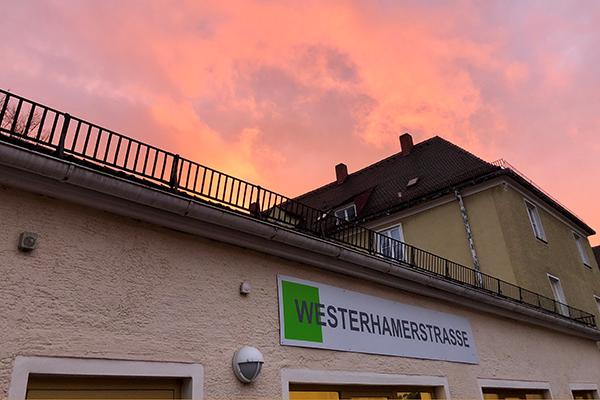 Nachbarschaftstreff Westerhamer Straße Außenansicht