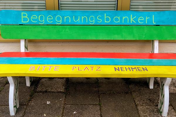 Nachbarschaftstreff Westerhamer Straße: Begegnungsbankerl