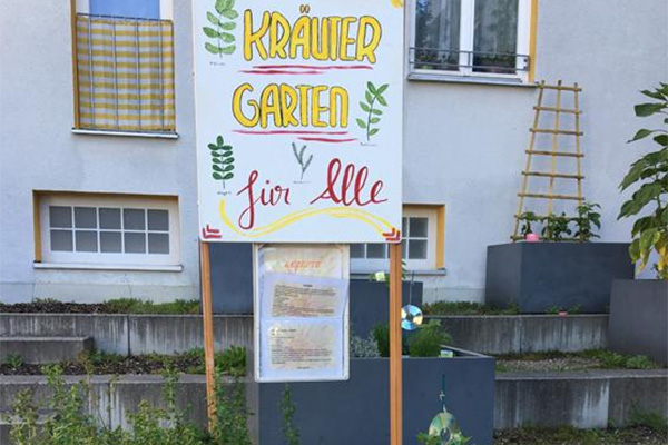 Nachbarschaftstreff Oslostraße: Kräutergarten