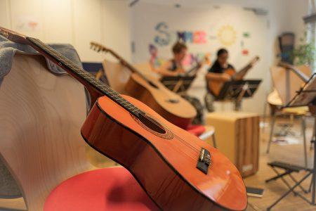 Nachbarschaftstreff Oslostraße: Musikunterricht