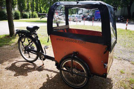 Nachbarschaftstreff Langbürgener Straße – Lastenrad zum Ausleihen