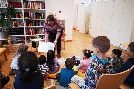 Nachbarschaftstreff Langbürgener Straße: Vorlesetag