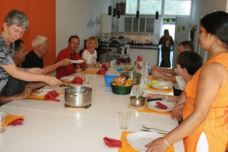 Nachbarschaftstreff Blumenau: Internationaler Kochtreff