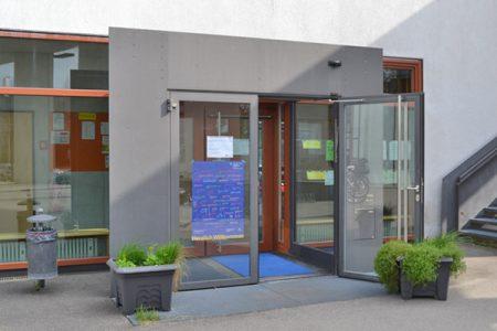 Nachbarschaftstreff Theresia: Eingang
